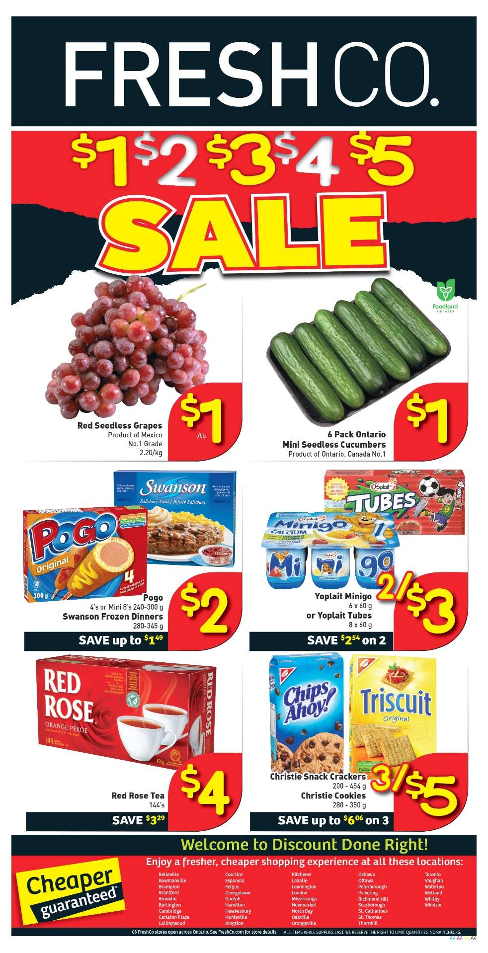 Toronto grocery coupons free