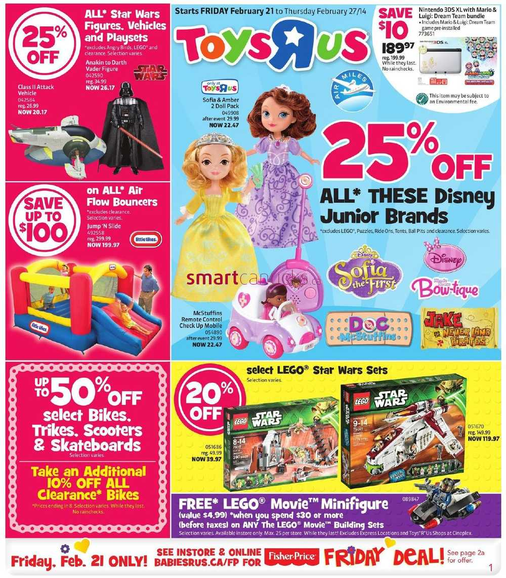 Toys R Us Flyer : Toys r us flyer february to