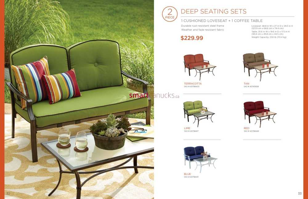 Bed Bath & Beyond 2014 Summer Outdoor Furniture Guide