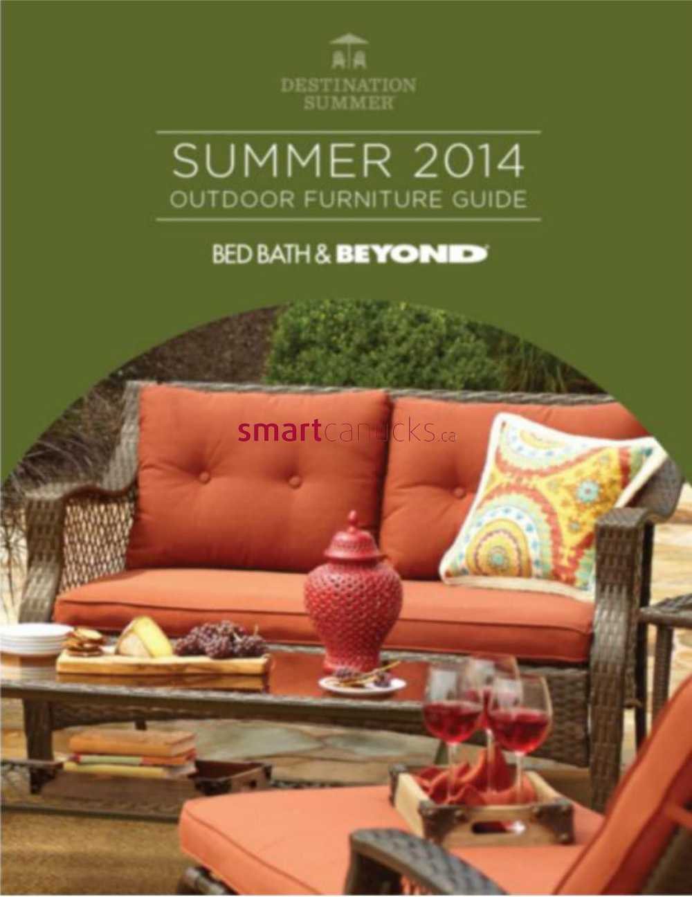 Bed Bath Amp Beyond 2014 Summer Outdoor Furniture Guide