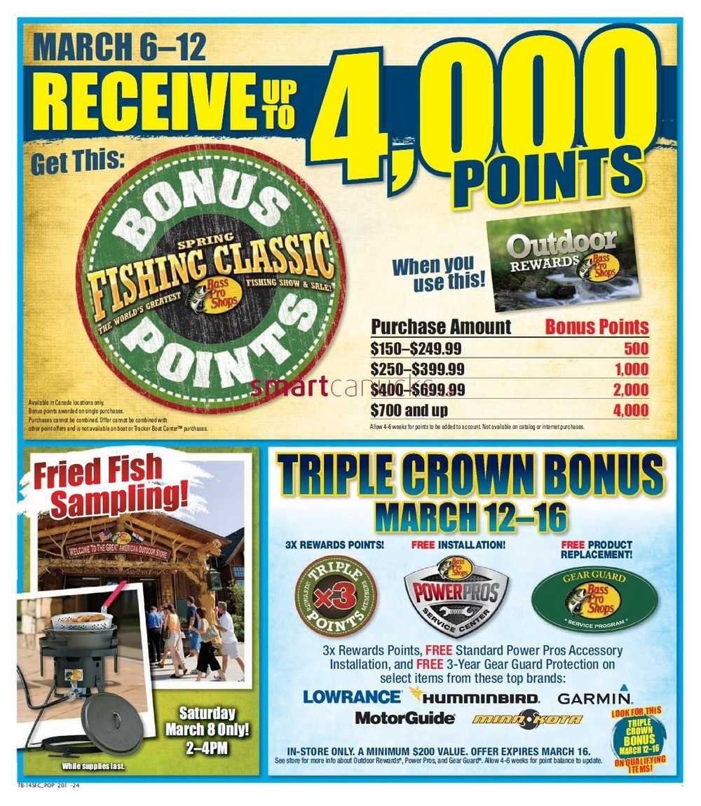 Bass Pro Shops flyer February 28 to March 16