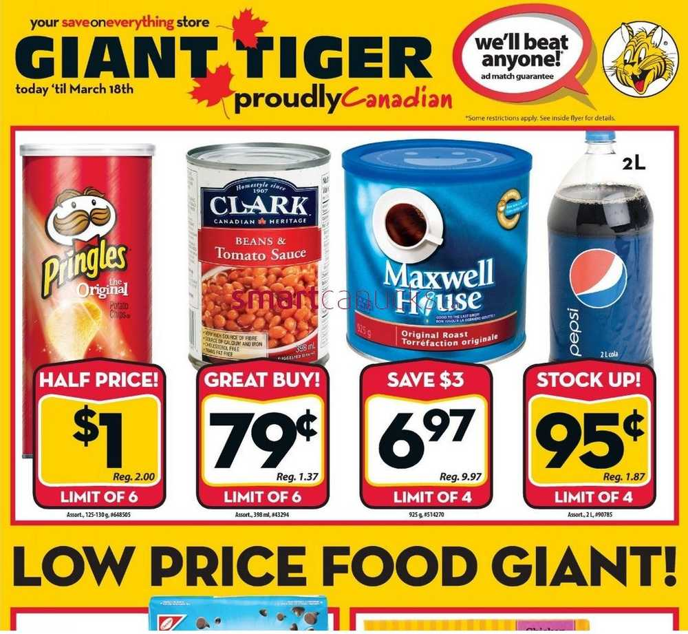 Giant Tiger Weekly Flyer 2017 2018 Best Cars Reviews