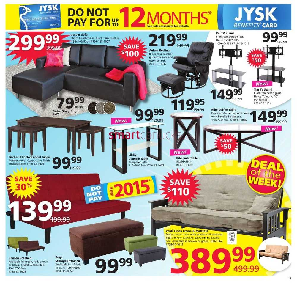 jysk flyer march 13 to 19