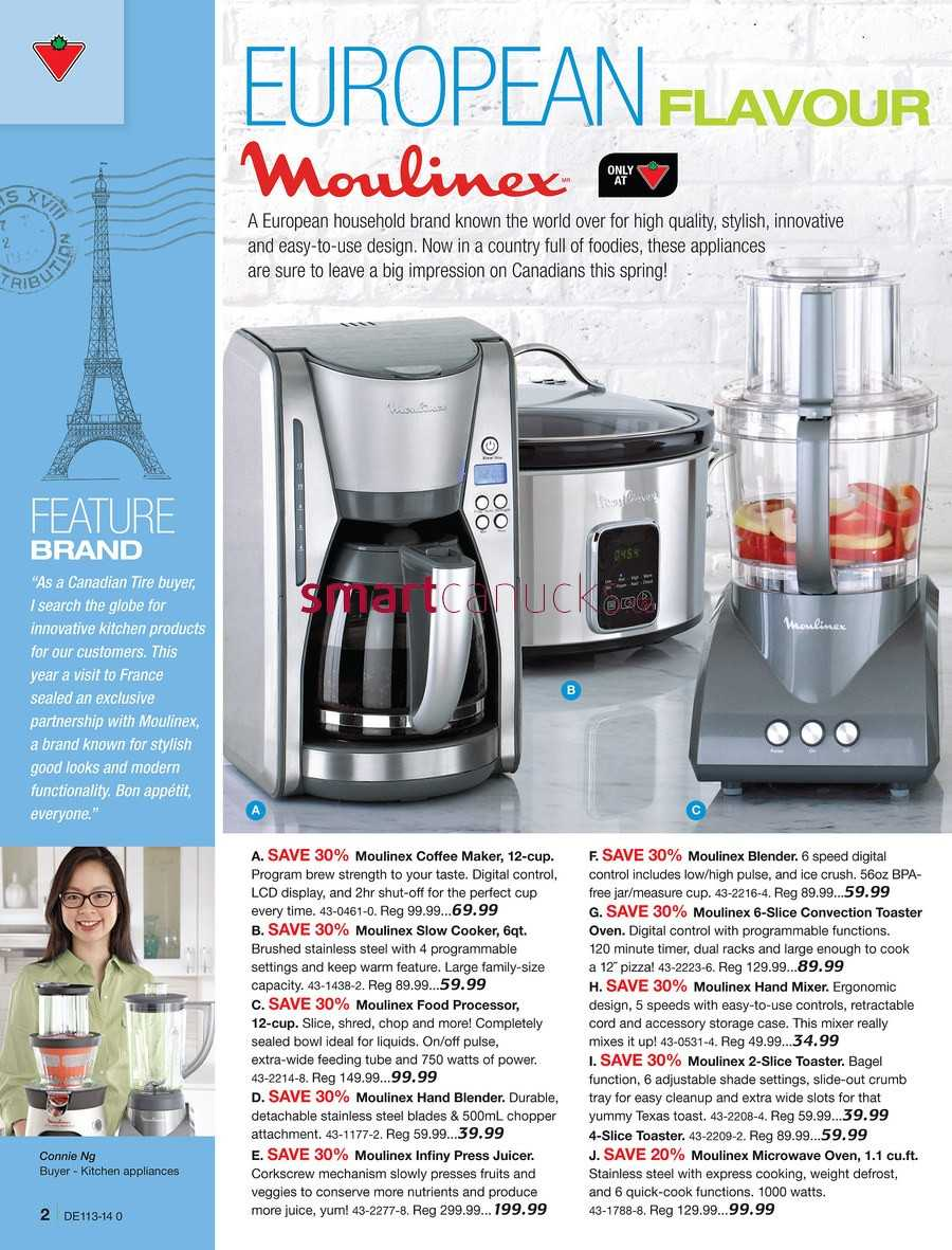 Uncategorized Canadian Tire Kitchen Appliances canadian tire destination home catalogue march 21 to april 10 view single