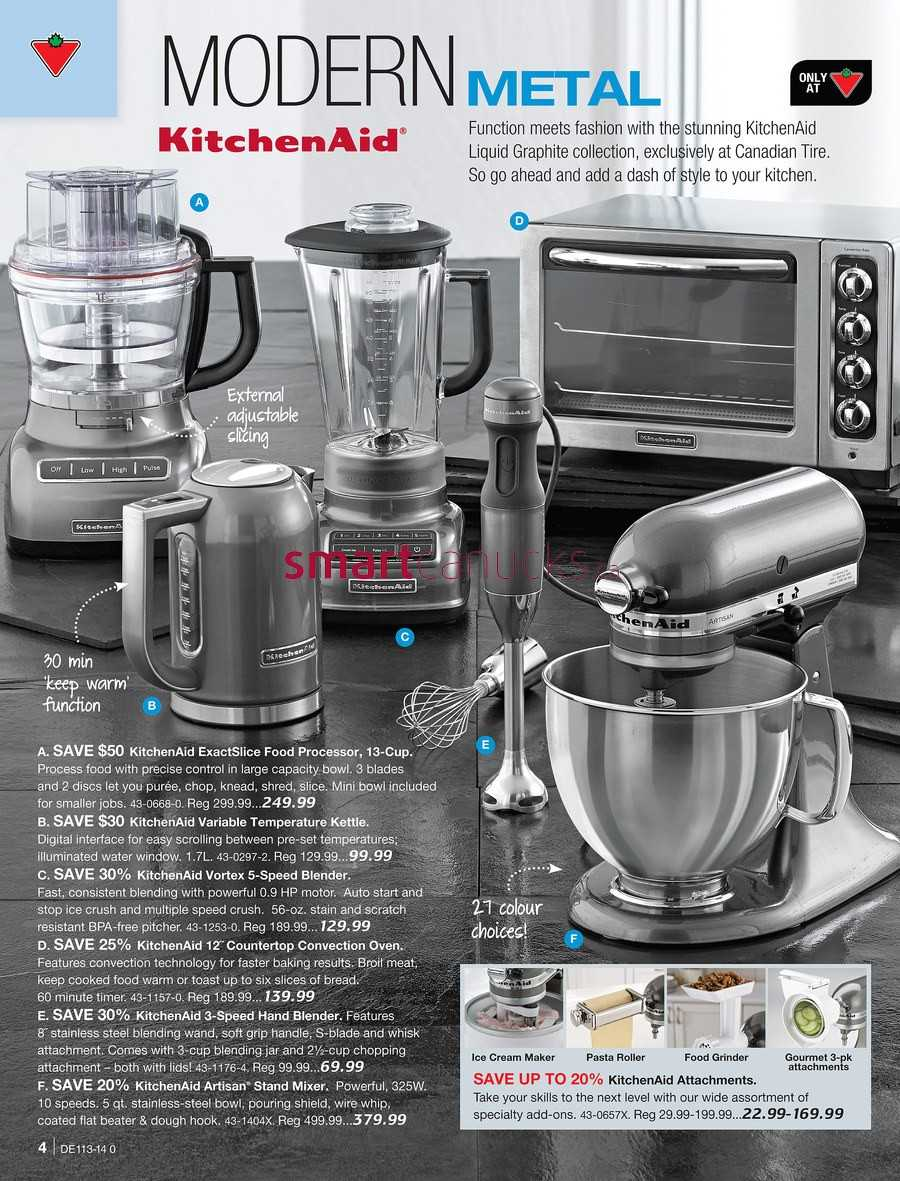 Uncategorized Canadian Tire Kitchen Appliances canadian tire destination home catalogue march 21 to april 10 simplified view more flyers