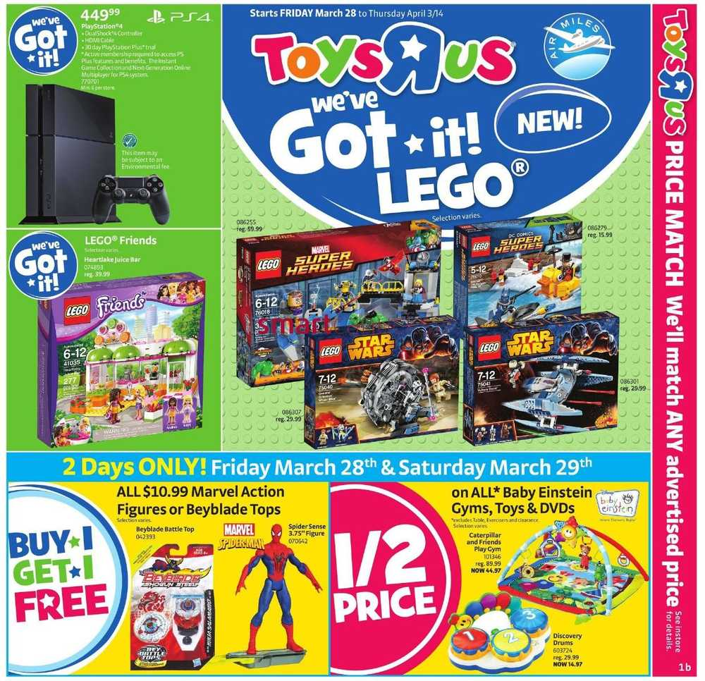 Toys R Us Flyer : Toys r us flyer march to april