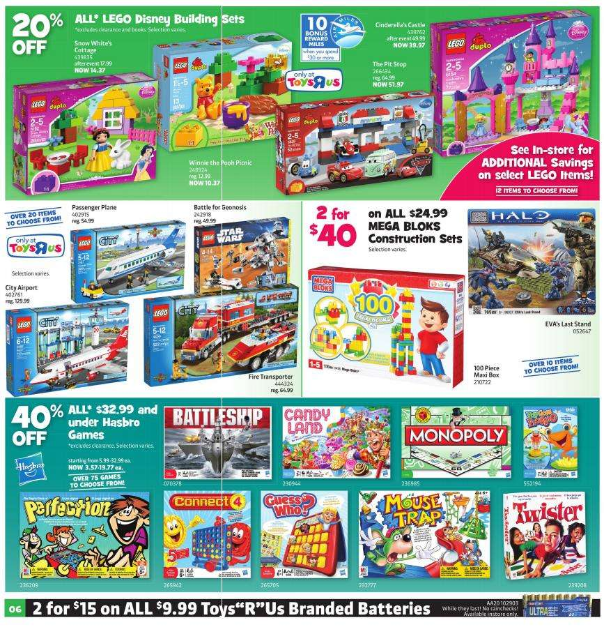 Toys R Us Flyer : Flyer toys r us jun to canada flyers coupons deals