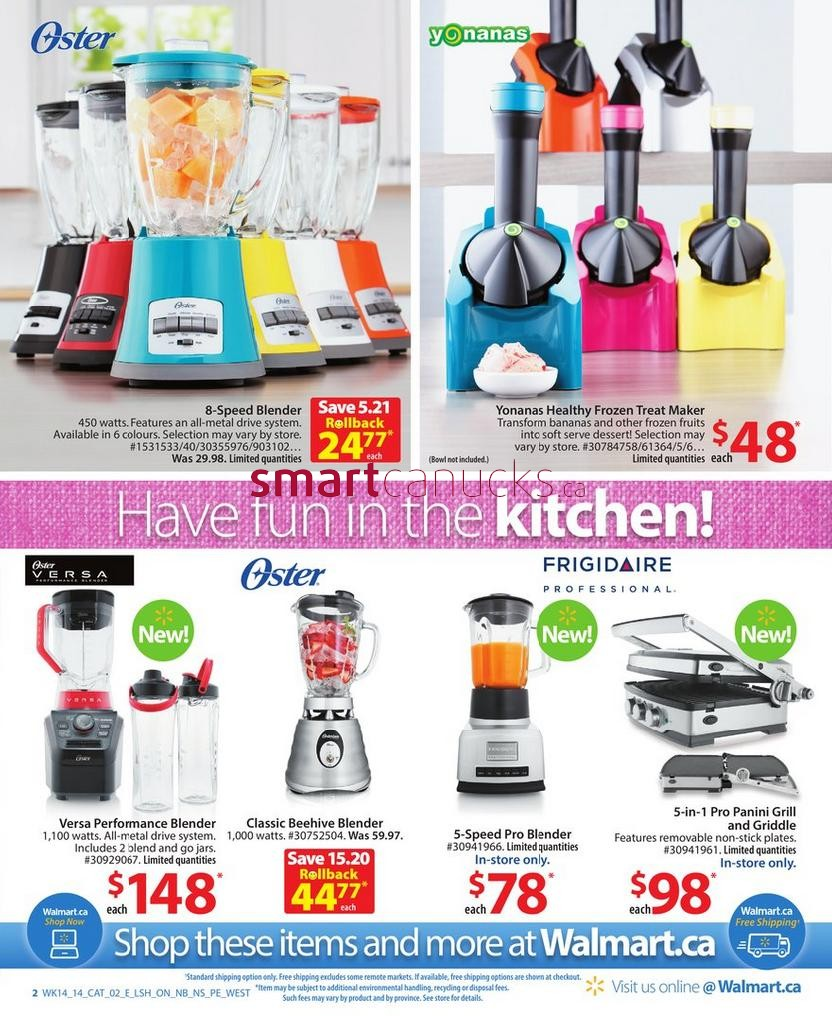 wonderful Kitchen Appliances Catalogue #2: Smart Canucks