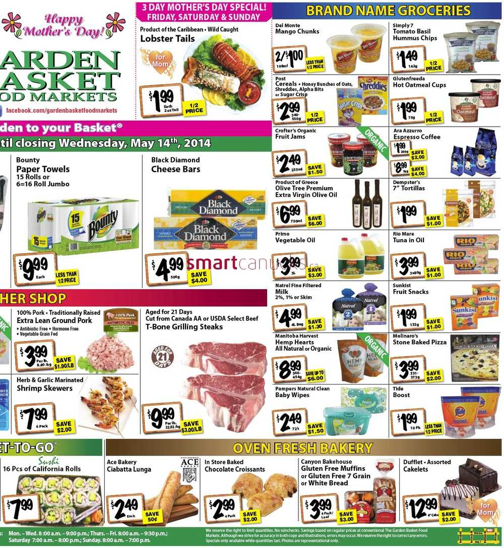 the garden basket flyer may 8 to 14