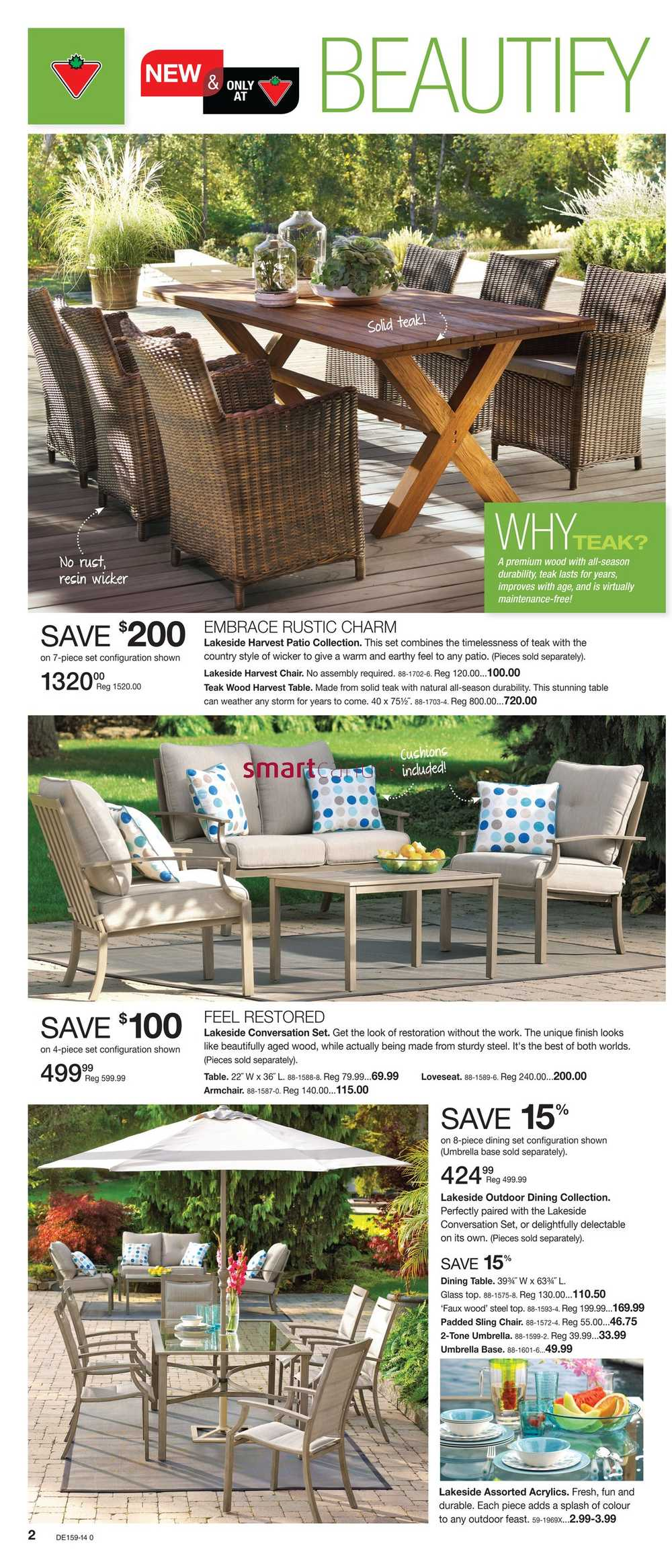 Canadian Tire Destination Spring Flyer May 2 To 22
