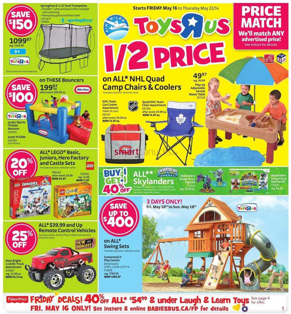 Toys R Us Canada Flyers