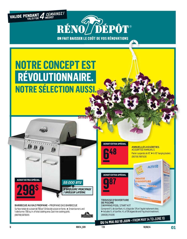 Reno Depot flyer May 14 to June 10
