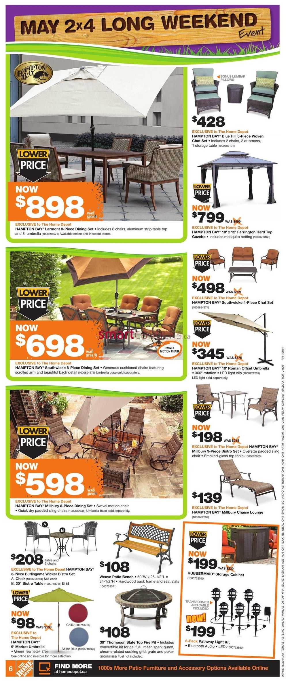 Home Depot On Flyer May 15 To 21