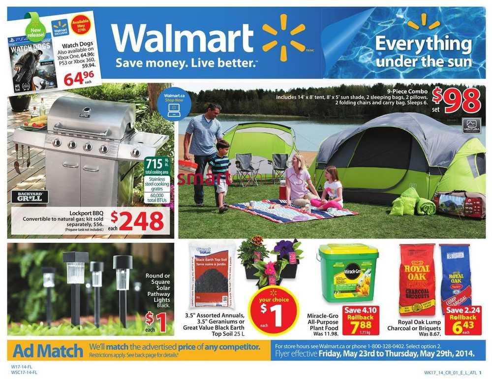 More Walmart Flyers  sc 1 st  Smart Canucks & Walmart (Atlantic) flyer May 23 to 29