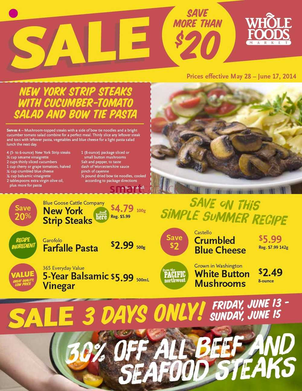 Whole Foods Weekly Flyer Nyc