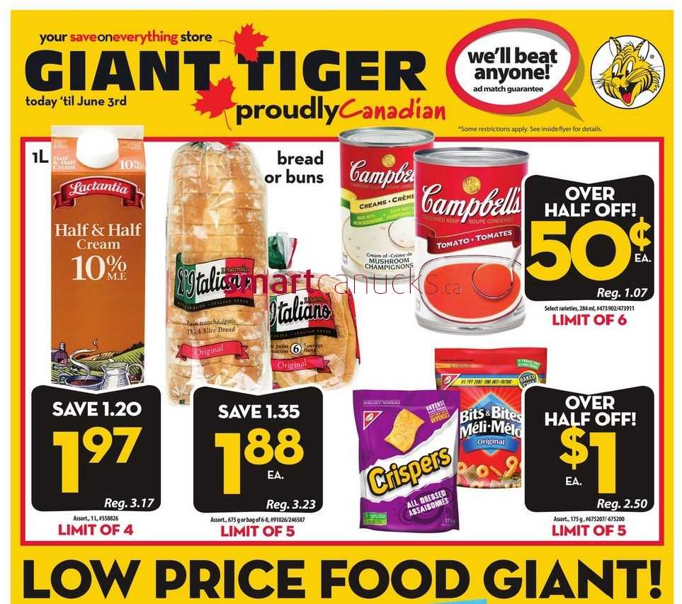 Giant tiger online coupons