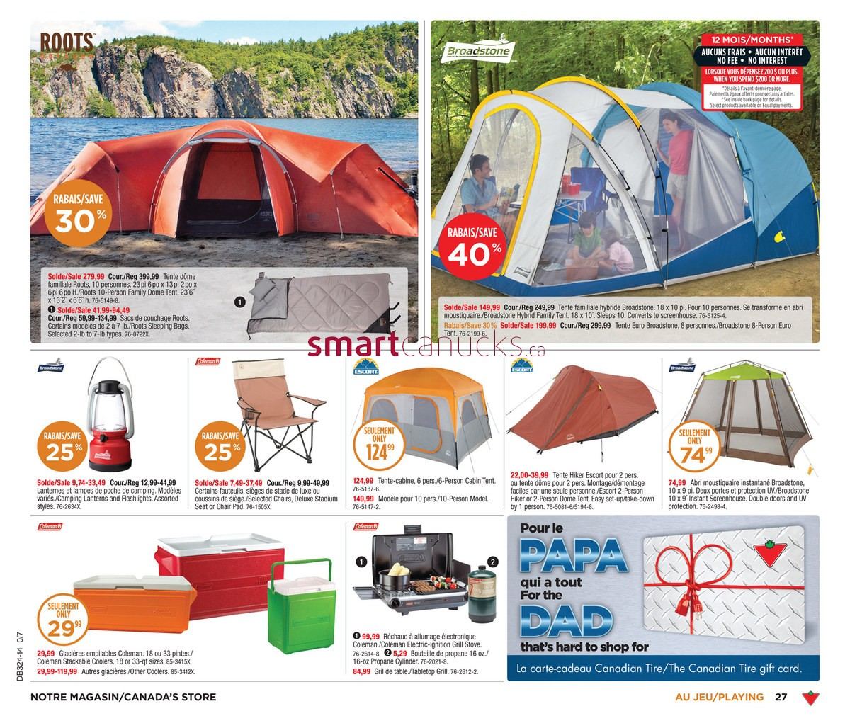 Canadian Tire (QC) flyer June 6 to 12.  sc 1 st  Canadian Flyers - Smart Canucks & Canadian Tire (QC) flyer June 6 to 12