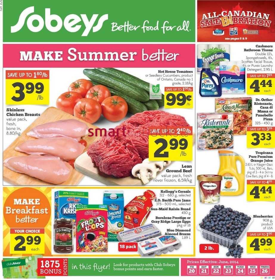 Grocery Store Flyers Kitchener Ontario