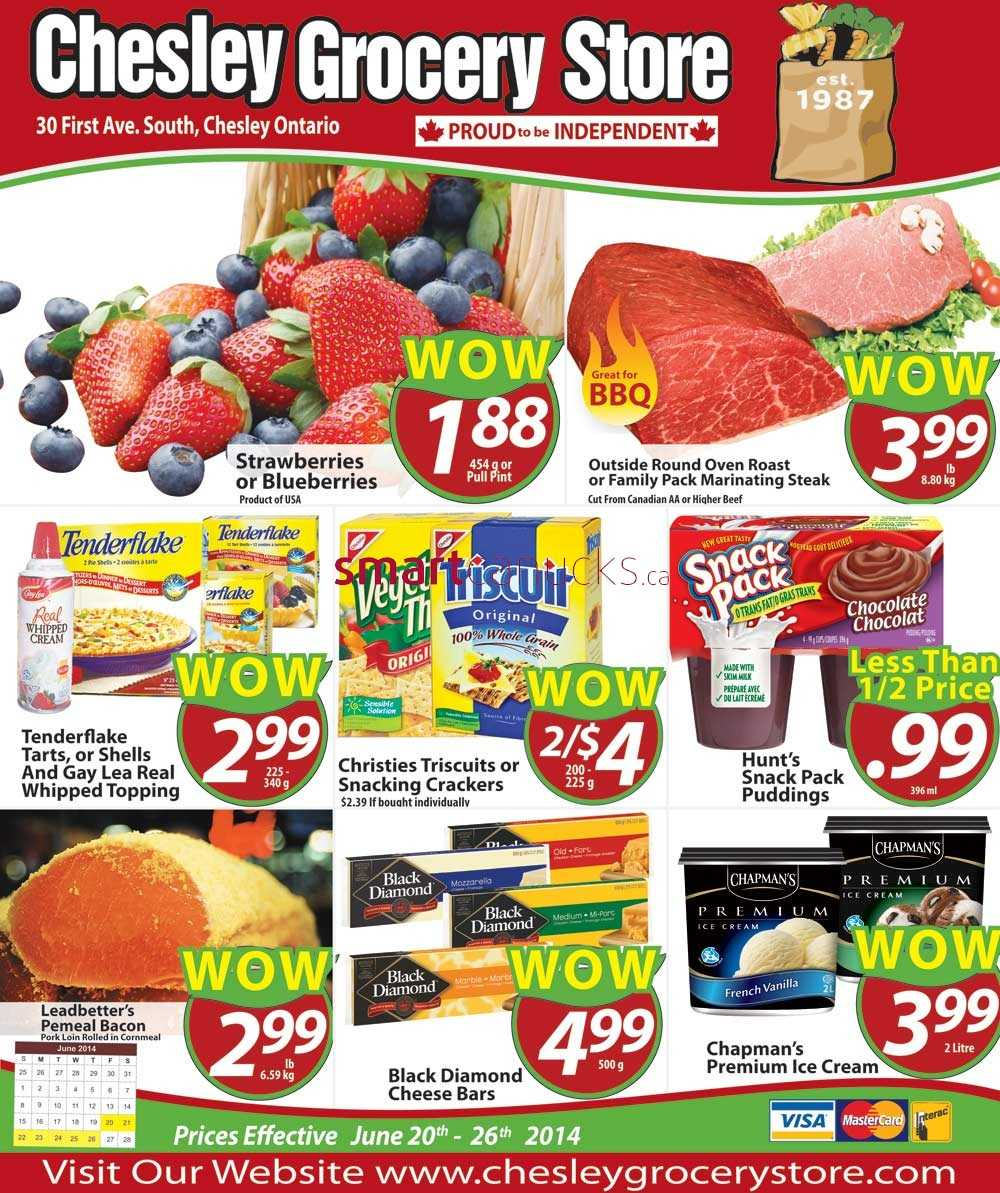 Chesley Grocery Store Canada Flyers