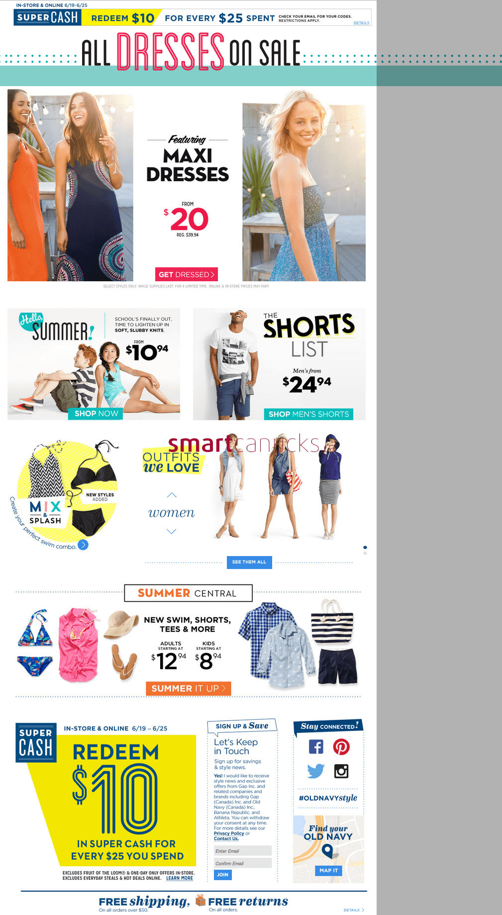 Current Old Navy sales ad, best deals, and promotions. How to save with Old Navy amazing sales – check the best deals and choose which items you would like to purchase. The retailer sells: clothing and accessories for women, men, and kids.