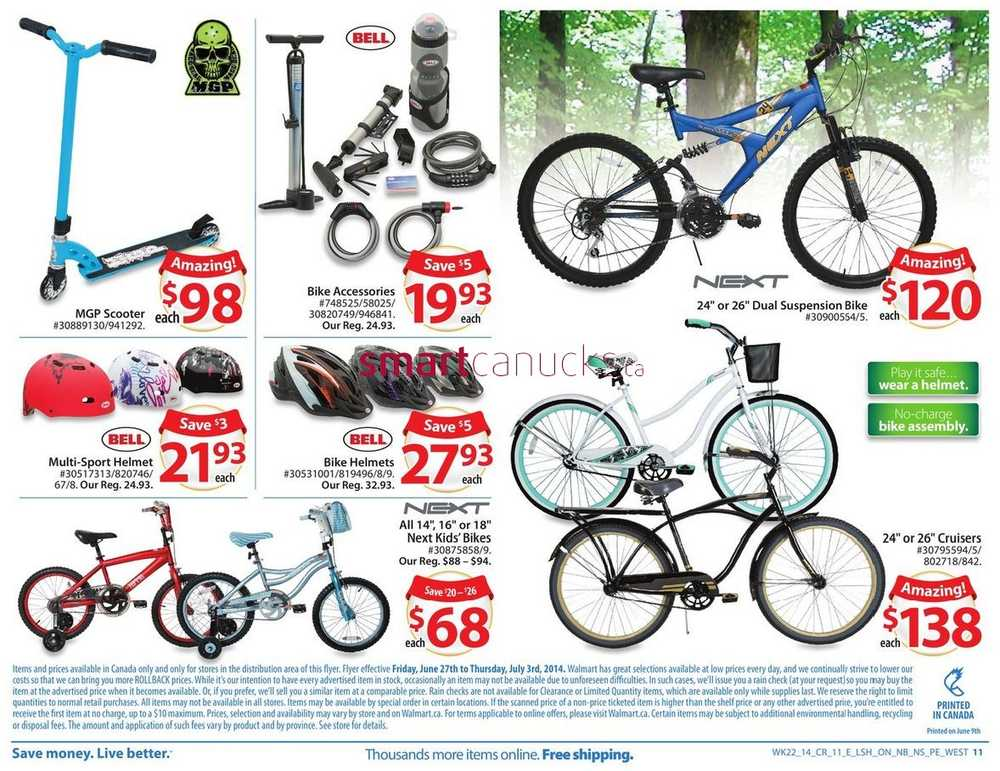 Walmart (Atlantic) flyer June 27 to July 3