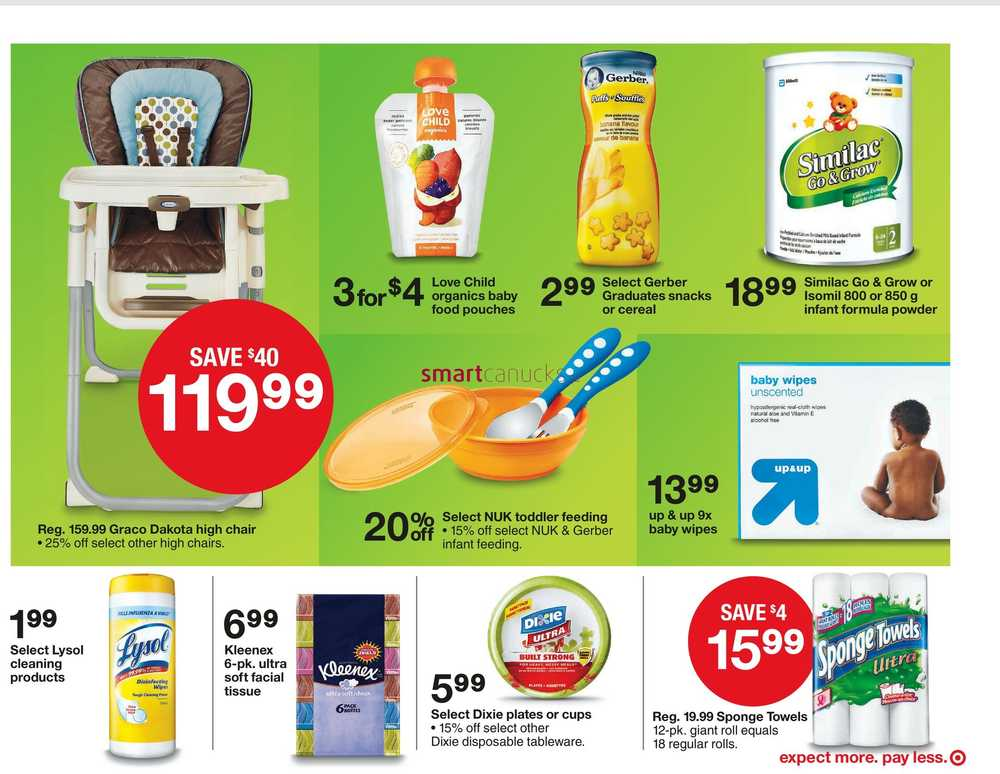 Home Essentials Canada Flyer