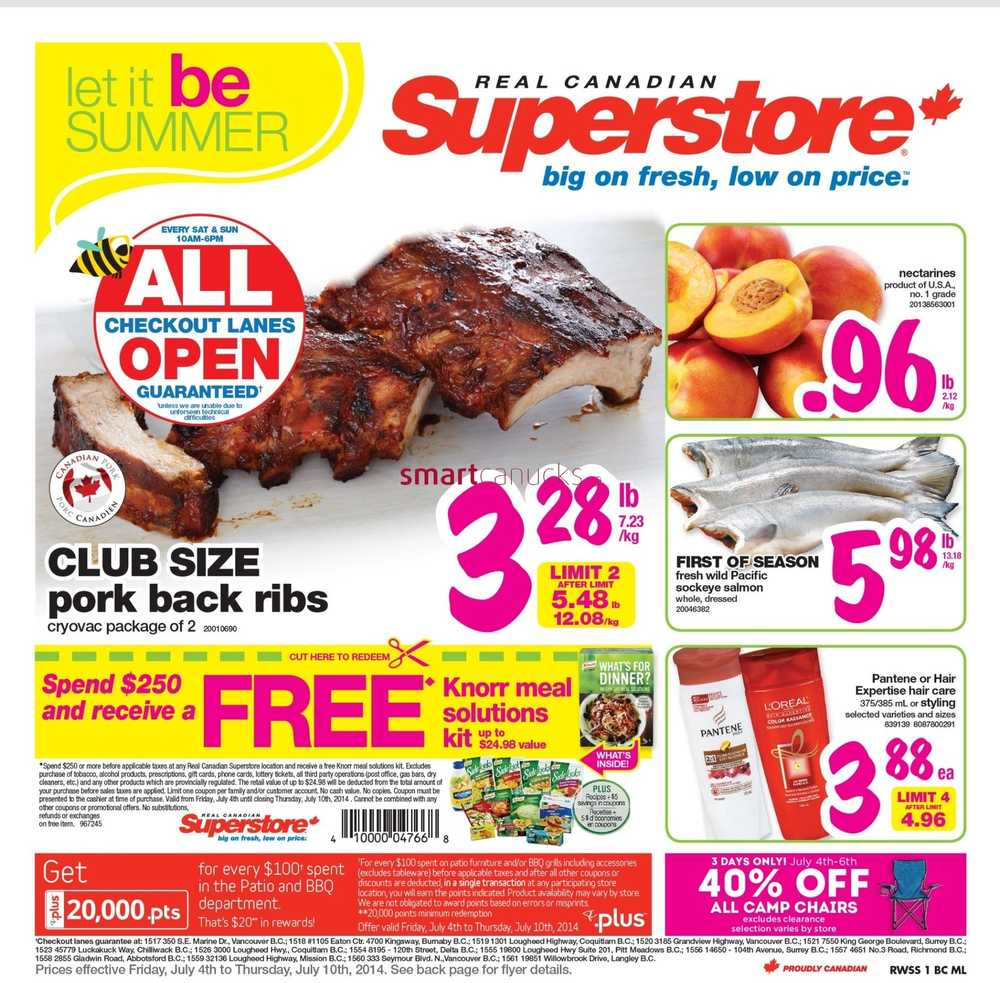 Freebie deals with coupons