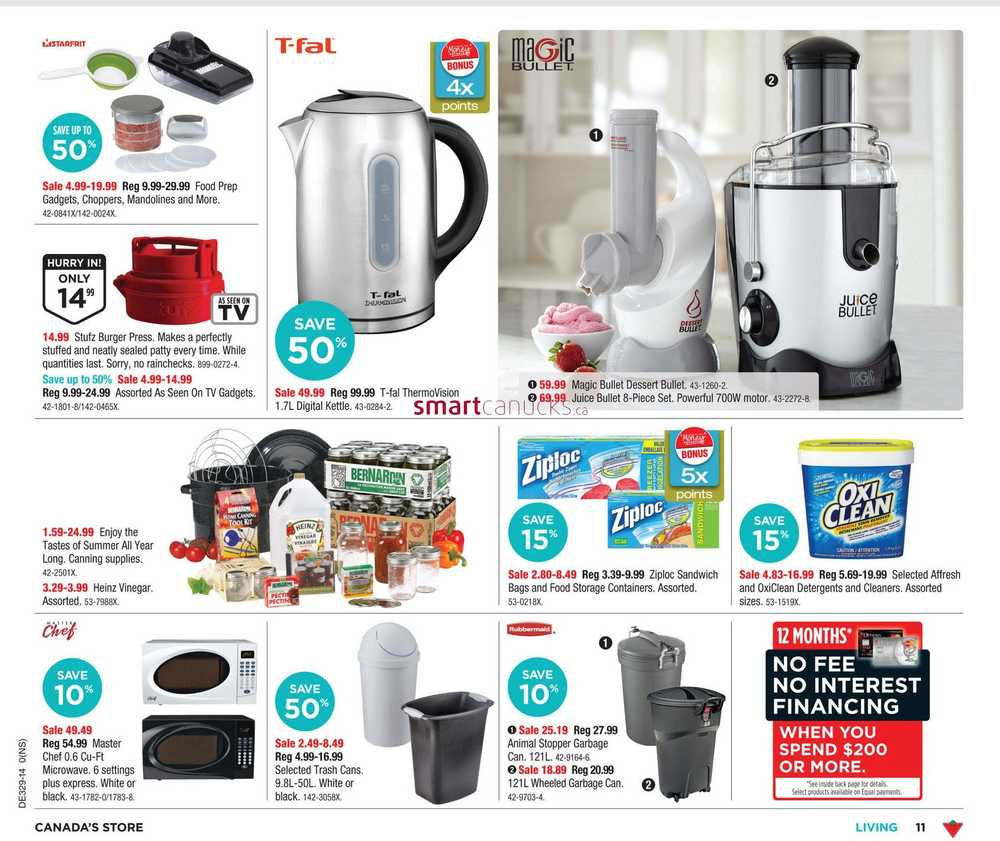 Uncategorized Canadian Tire Small Kitchen Appliances canadian tire weekly flyer ns july 11 to 17 view single