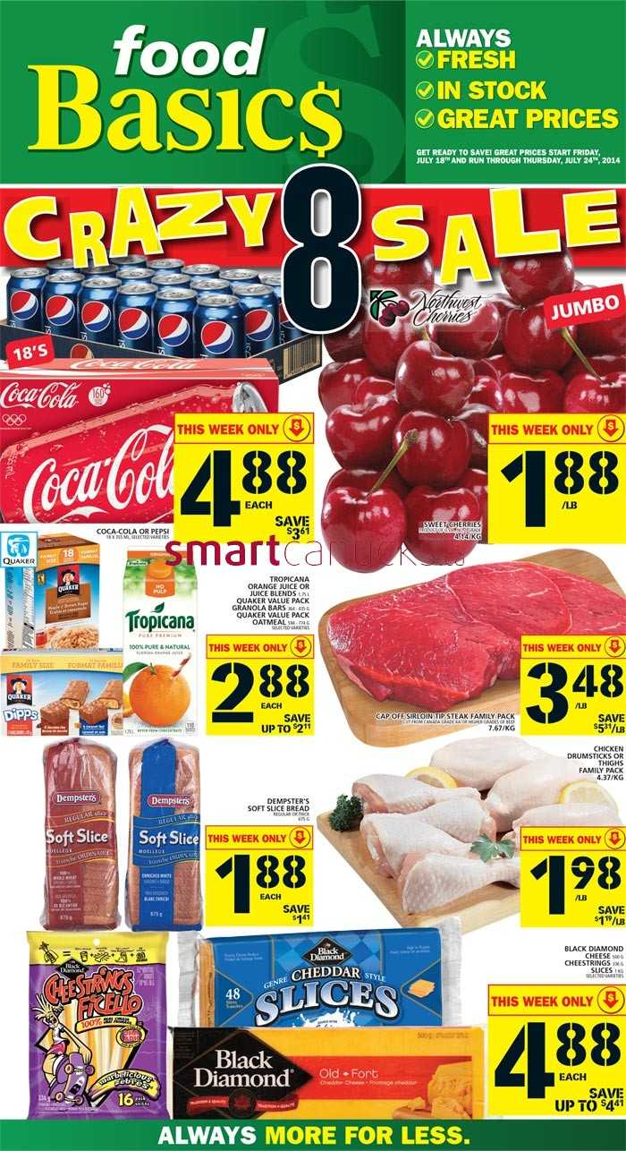 Food Basices Weekly Flyers