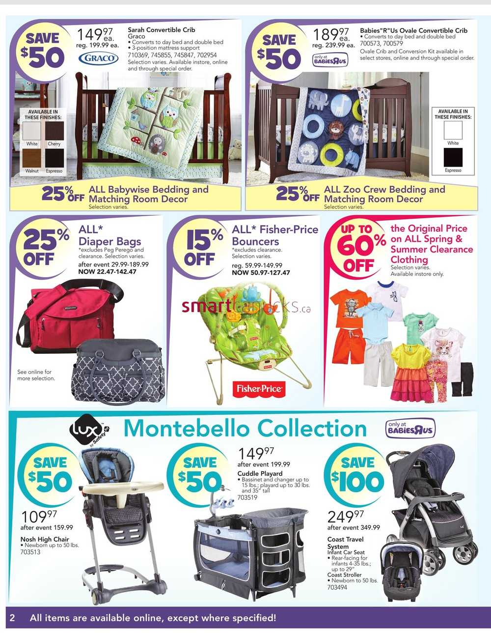 If you want the best specials and sales, then the Canada grocery & retail store flyers are great for saving money on food, appliances, electronics, household products, groceries, home decor, toys, clothing, footwear, furniture, tools, beauty products, and more.