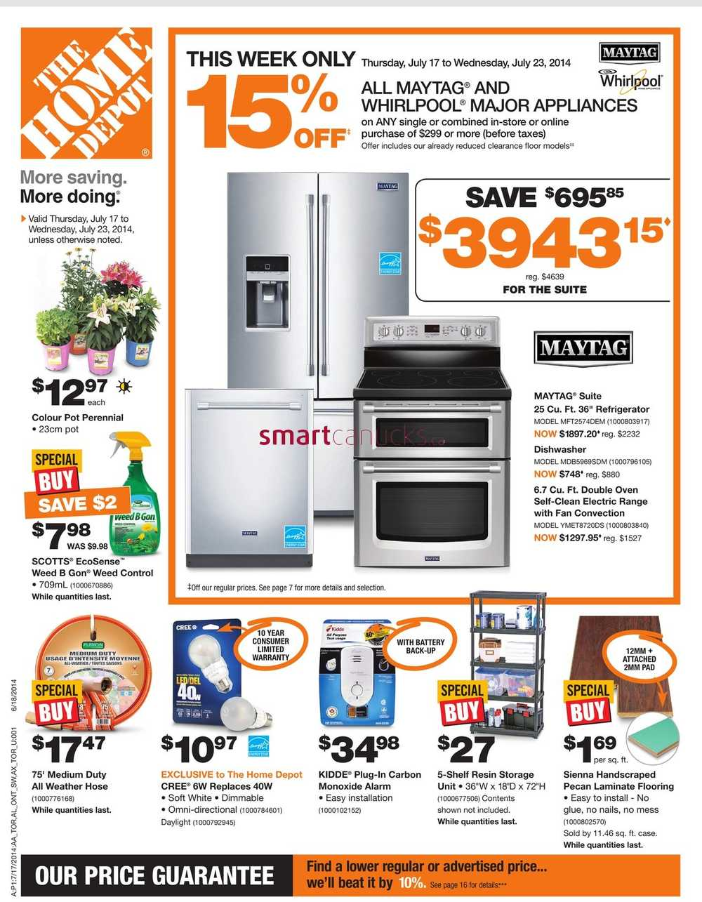 home depot current flyer with Home Depot Canada on Tractor Supply Sales further waterdepotcambridge moreover Menards Weekly Ad additionally Arbys August Savings Inter  Coupons additionally Home Depot Canada.