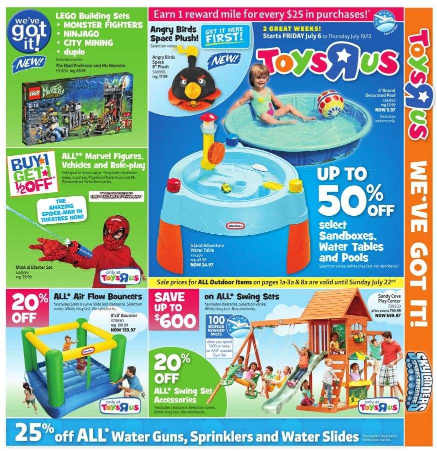 All Toys Toys R Us : Toys r us flyer jul to
