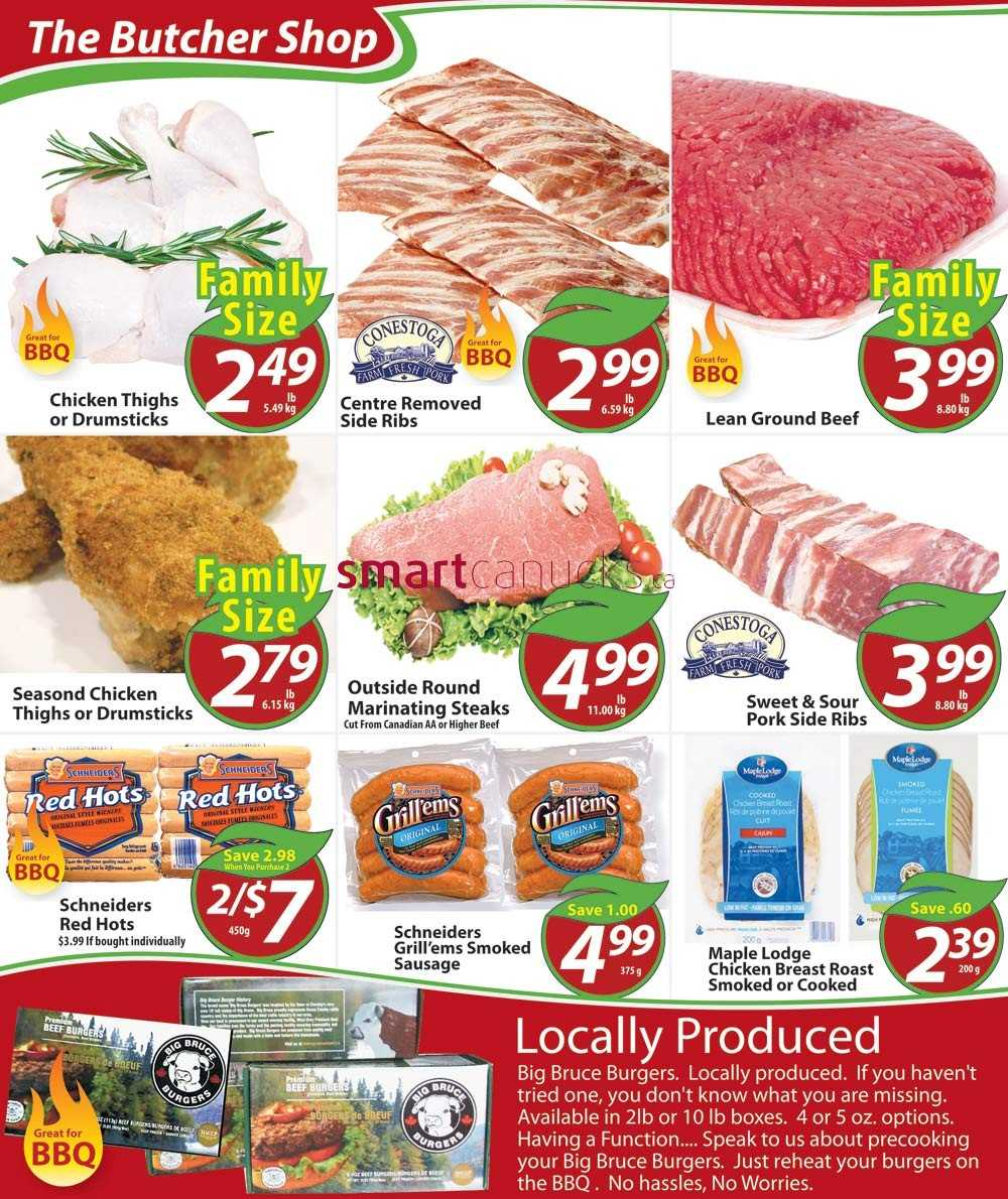 Chesley Grocery Store Flyer August 1 to August 7