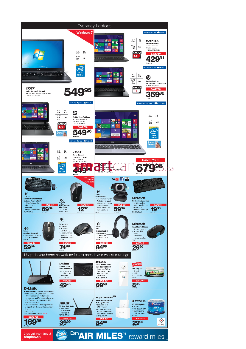 Staples has dozens of printable coupons to help you save big on your in-store purchase. They update their deals on a regular basisj so check back often.