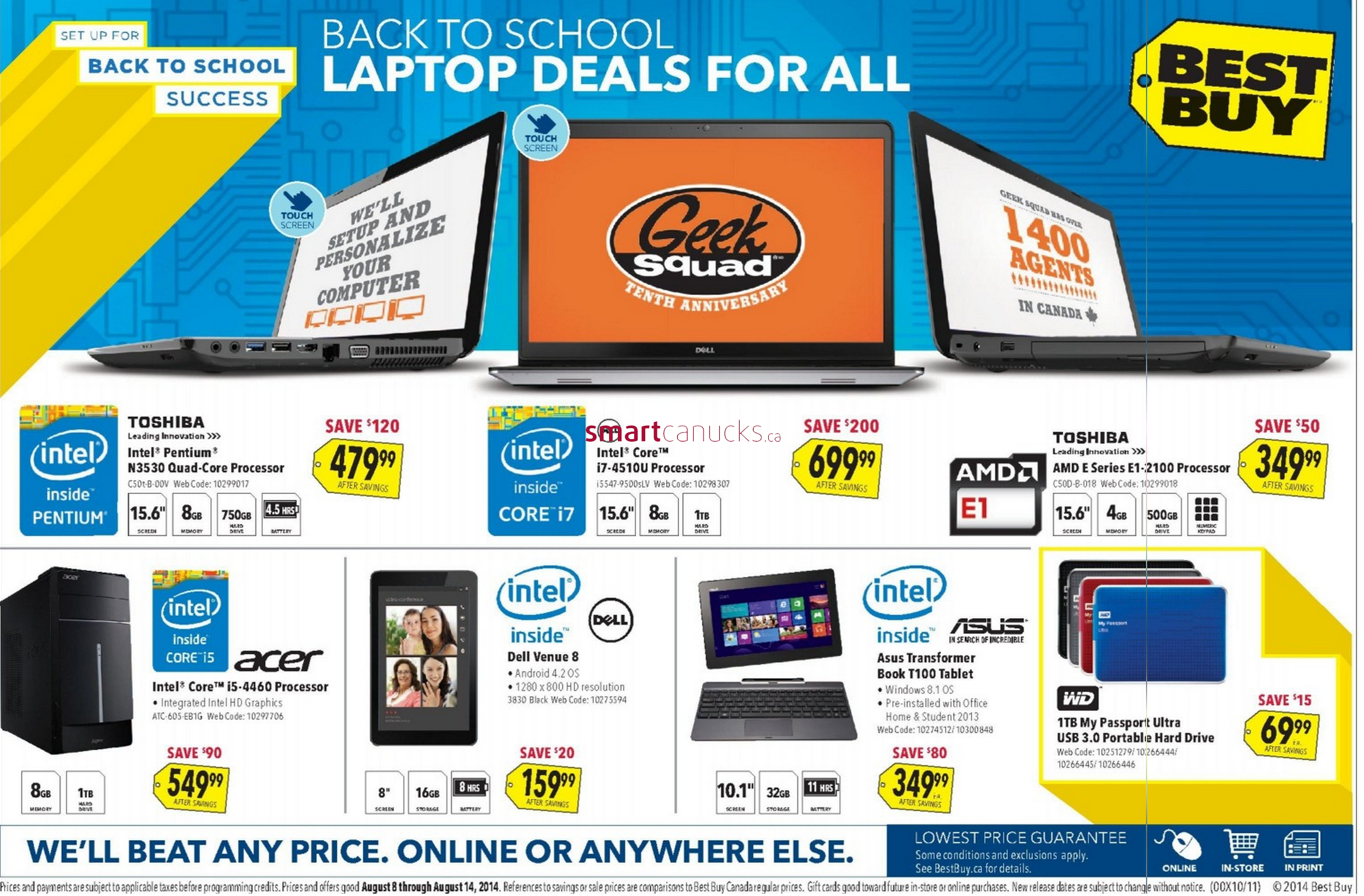 Best buy canada flyer august 8 to 14 best buy canada flyer august 8 to 14 greentooth Choice Image