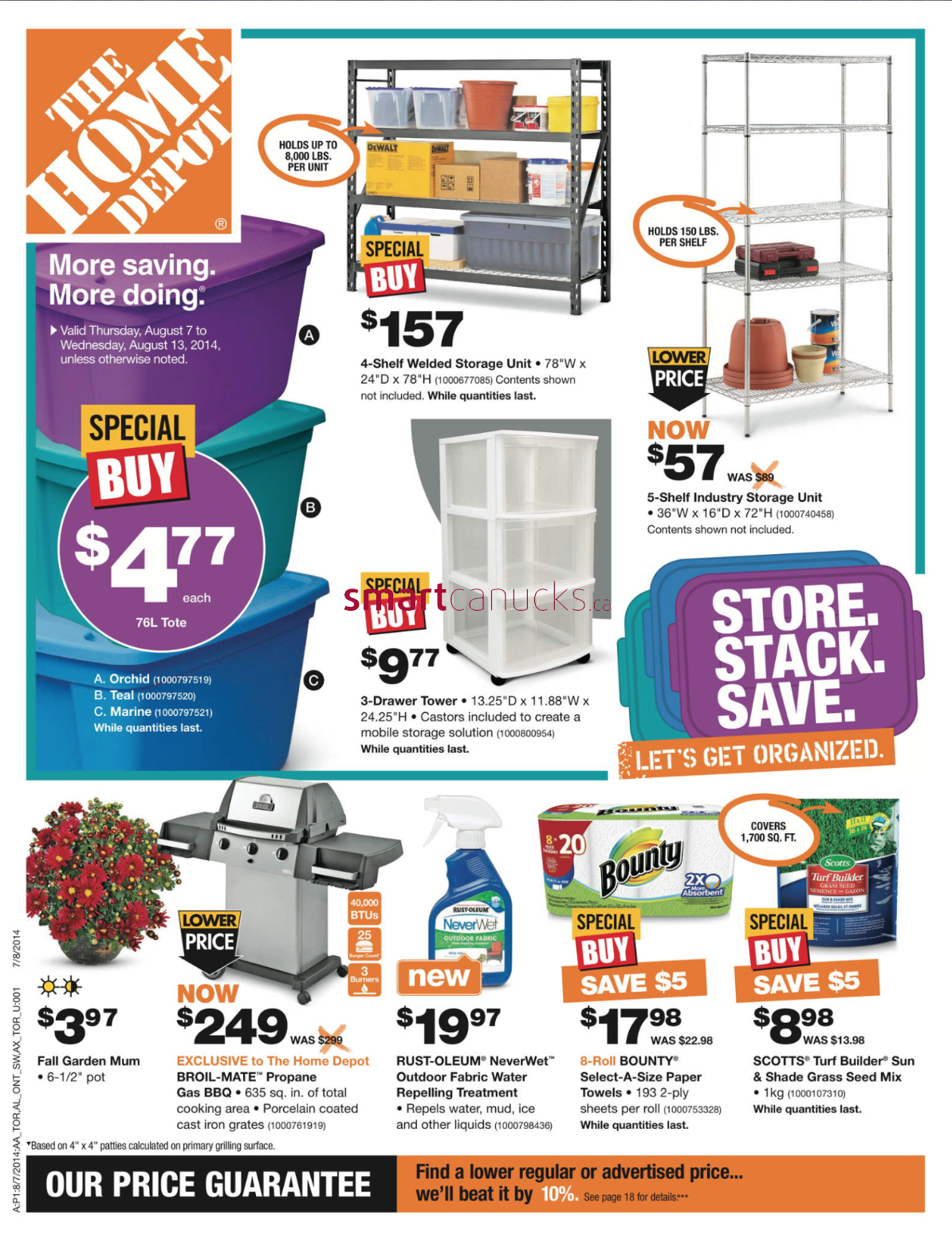 Home depot canada flyers for 7 home depot