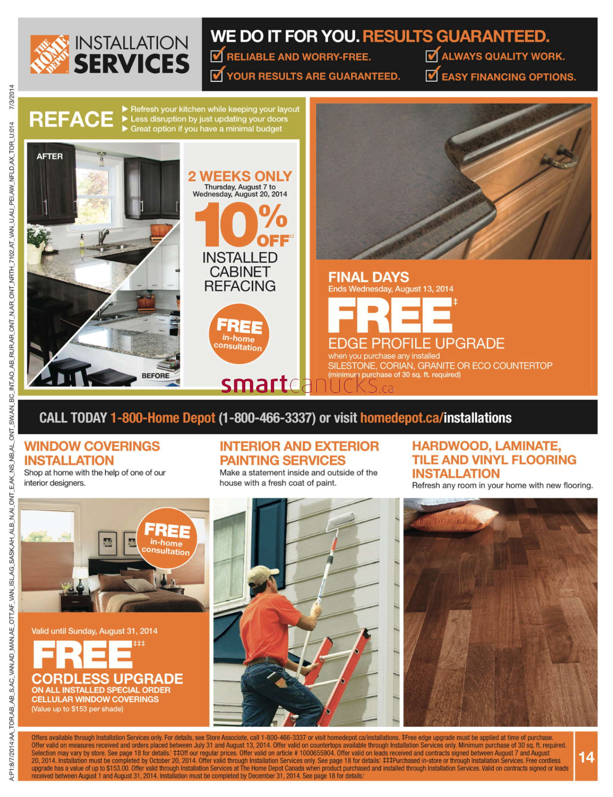 Home Depot Flyer August 7 to August 13