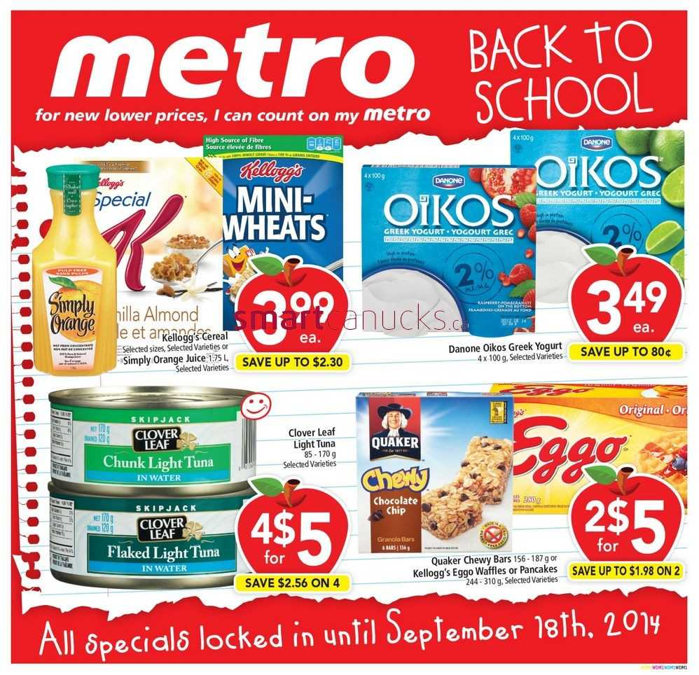metro on back to school flyer august 22 to september 18. Black Bedroom Furniture Sets. Home Design Ideas