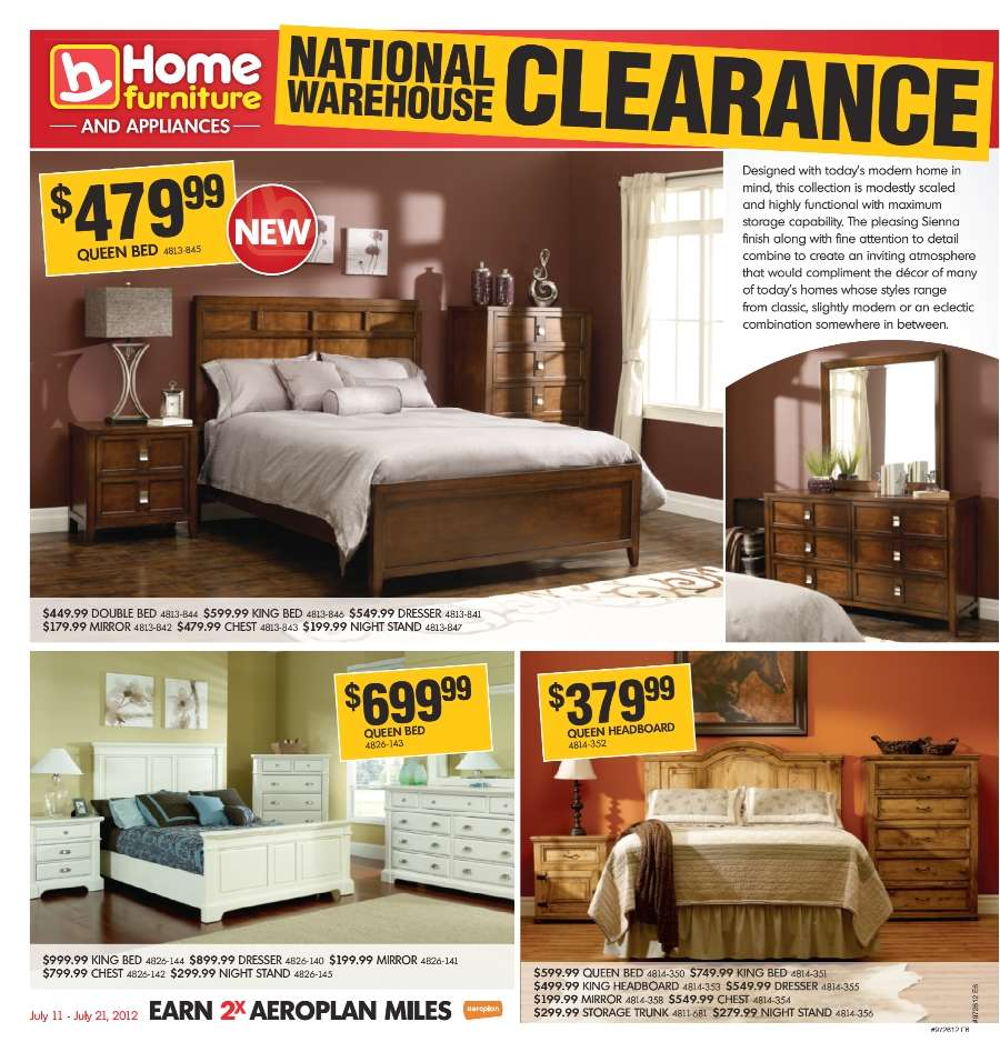 home furniture flyer jul  to  - simplified view · more home furniture flyers