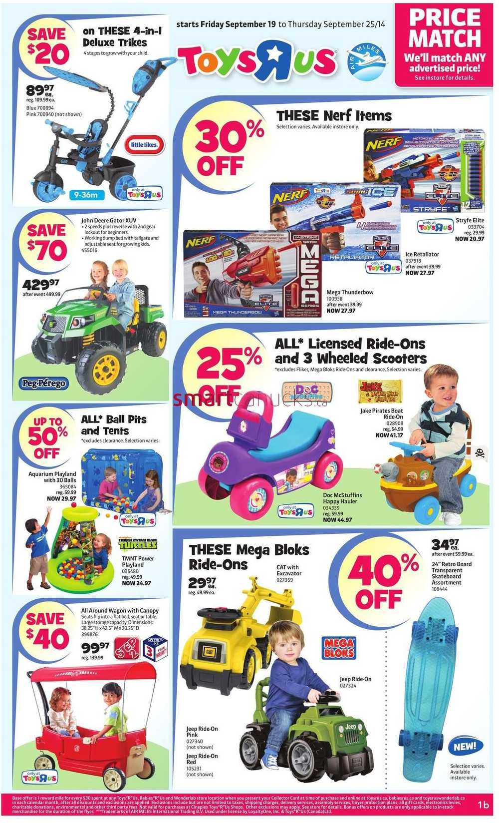 All Toys Toys R Us : Toys r us flyer september to
