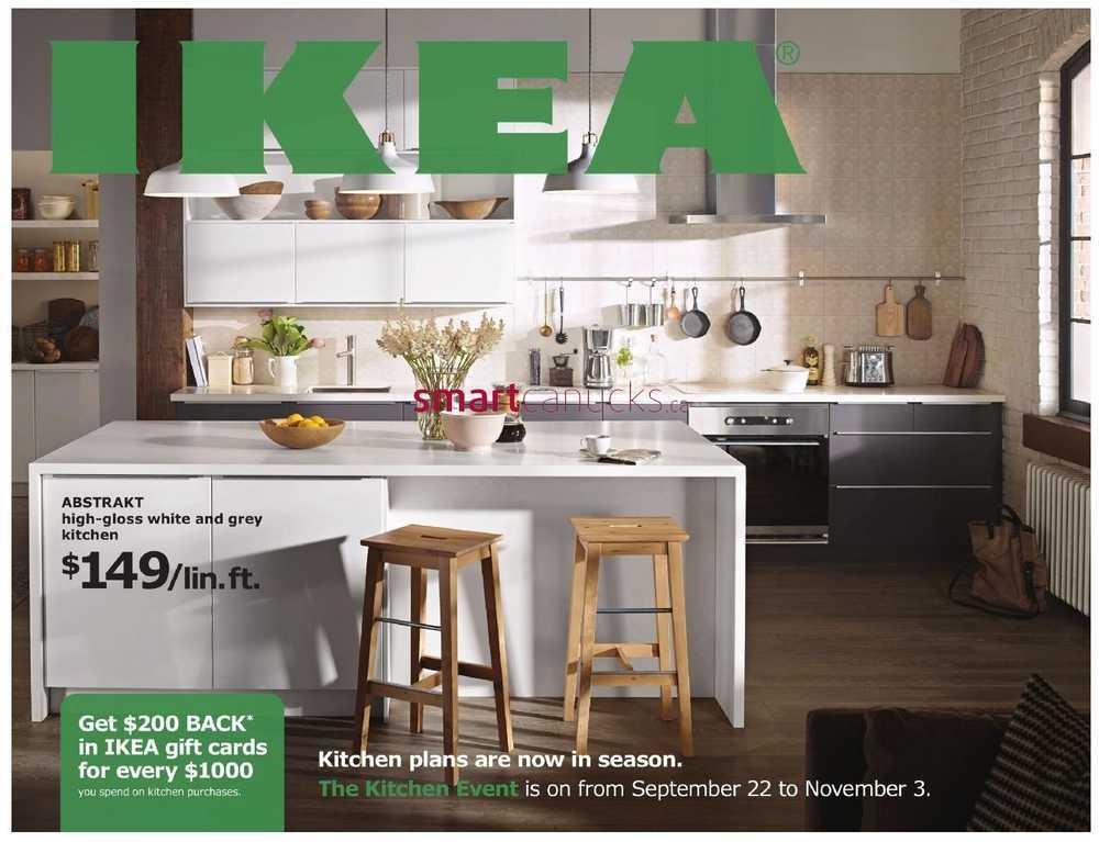 Ikea kitchen event ikea canada flyers Ikea kitchen sale event