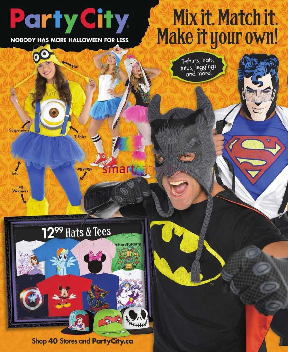 Party City flyer September 29 to October 31