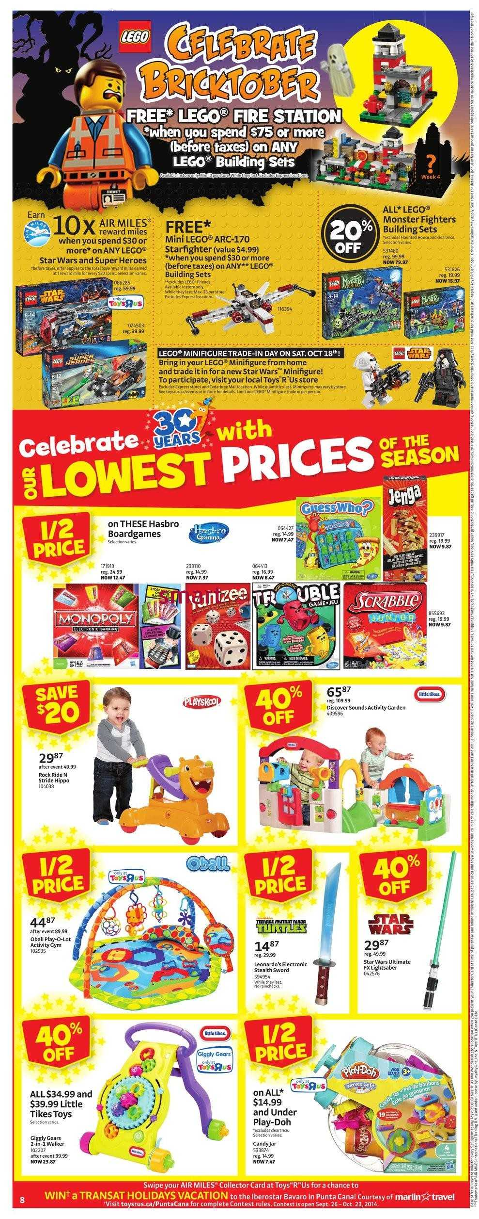 All Toys Toys R Us : Toys r us flyer october to