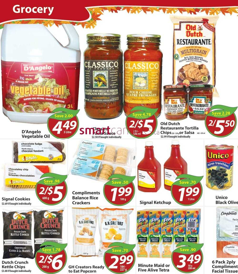 Chesley Grocery Store flyer October 24 to 30Flyers