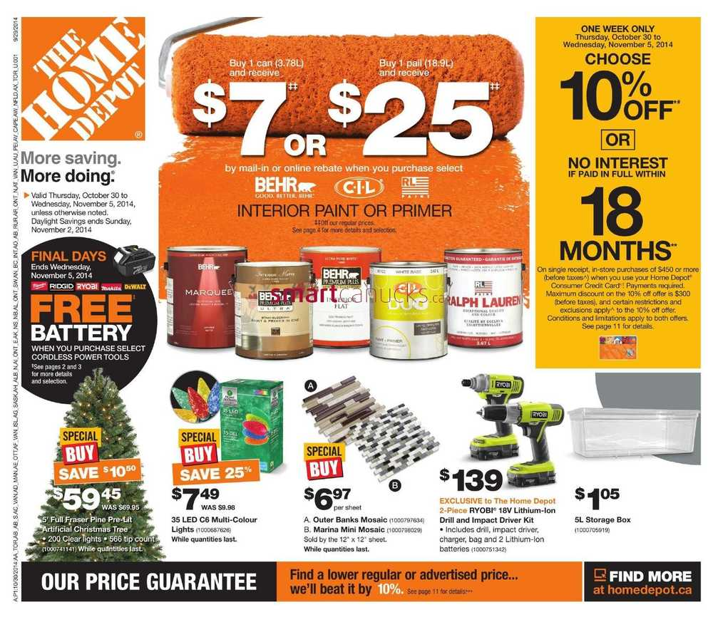 home depot canada customer complaints Your homedepotca account information is governed by our privacy and security   home depot credit card accounts consumer & commercial toll-free.
