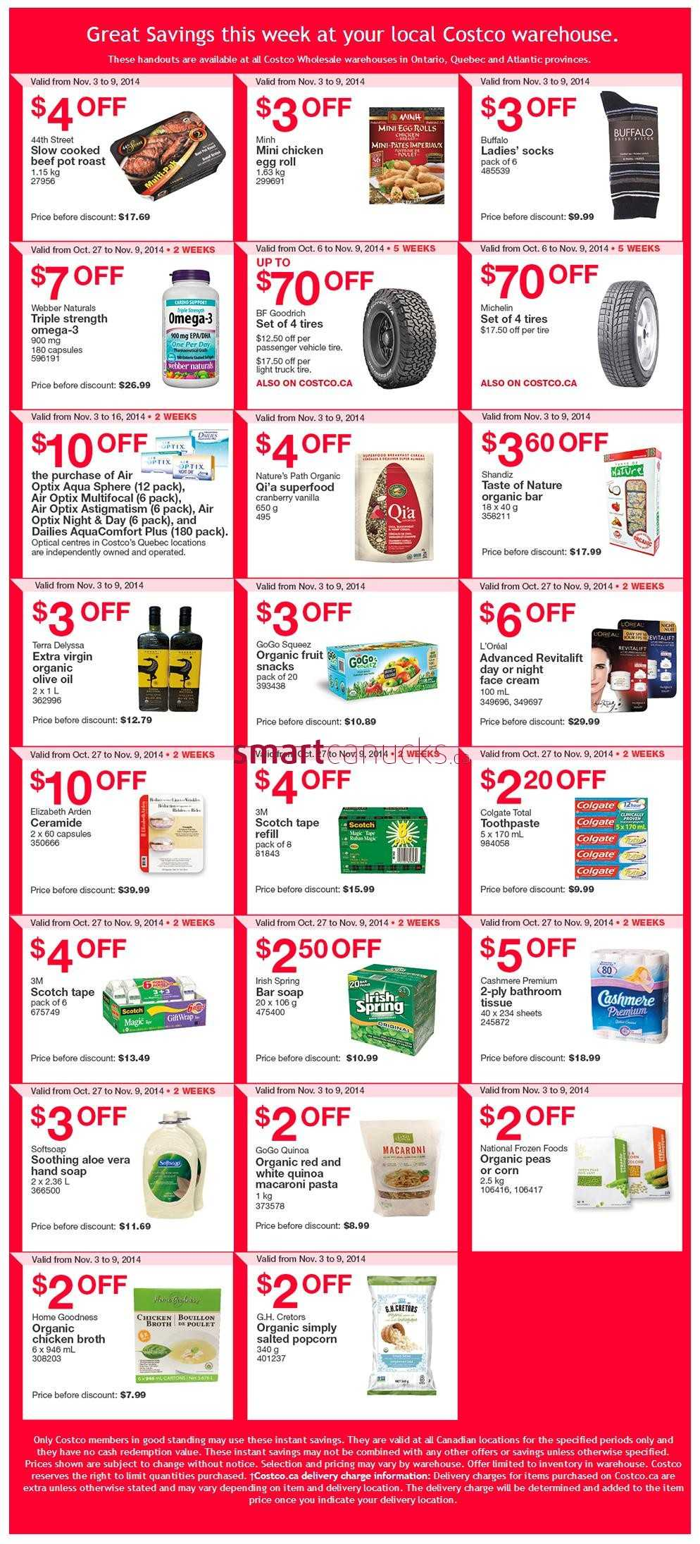 Flyers costco canada black friday flyers coupons 2014 start thu nov 27