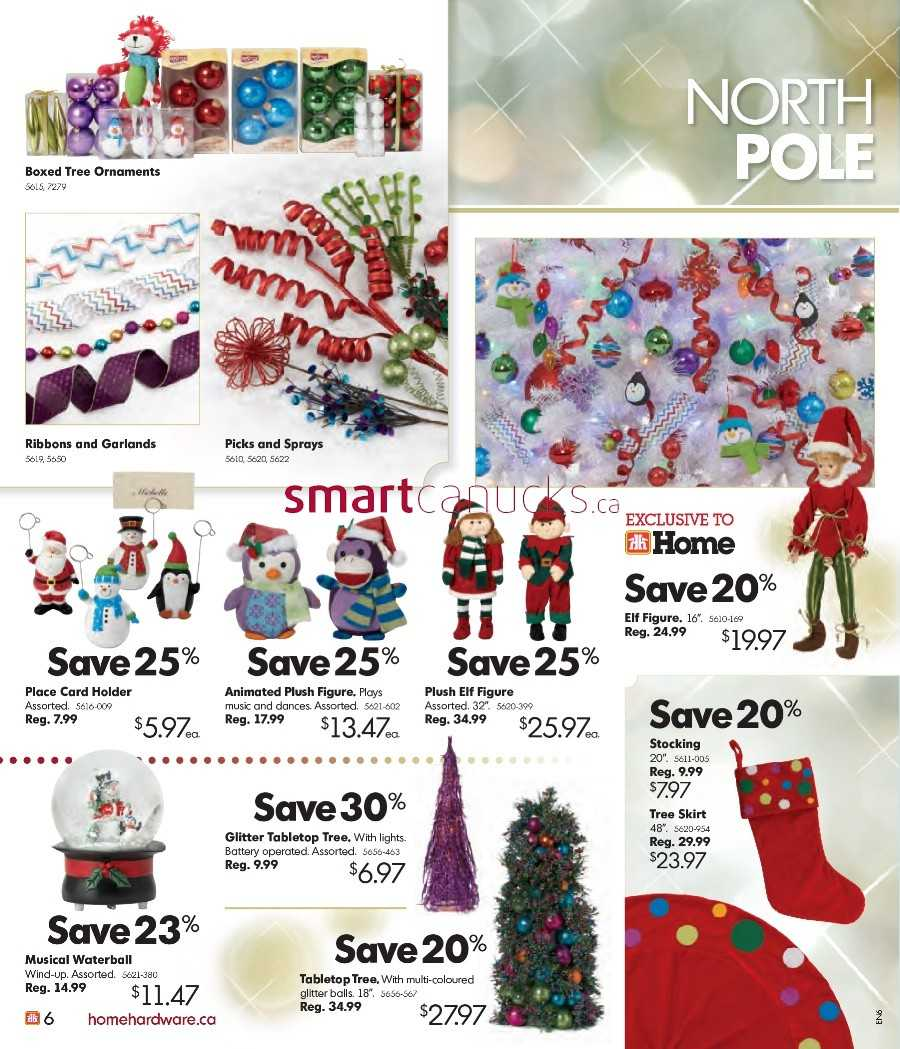 Home Hardware Gift Catalogue October 28 to December 13