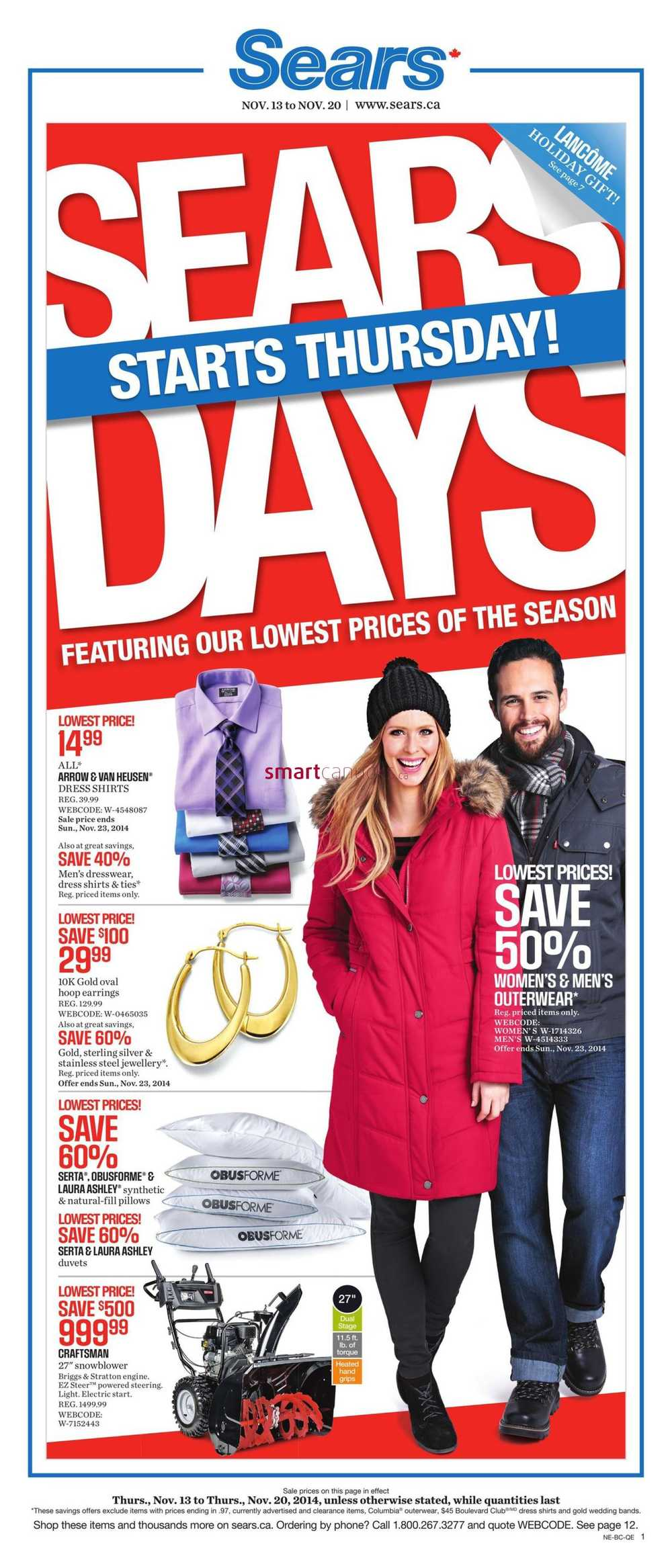 Sears Flyer Online – Canadian Store Flyers Your favorite online Canadian flyers, your favorite stores, updated regularly for you to browse easily. Find all the deals & .