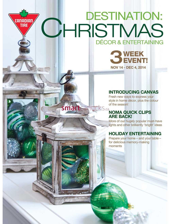 Canadian Tire Christmas Catalog November 14 to December 4