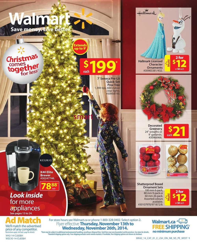 Walmart Catalog November 13 to 26